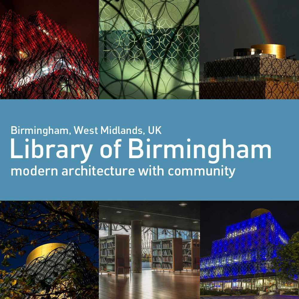 Introducing The Library of Birmingham, UK