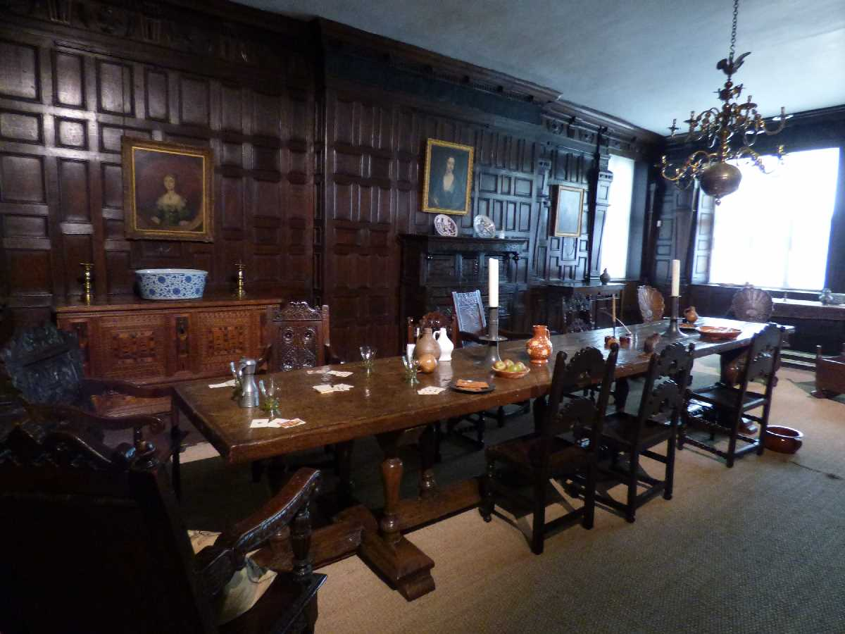 The Great Parlour at Aston Hall