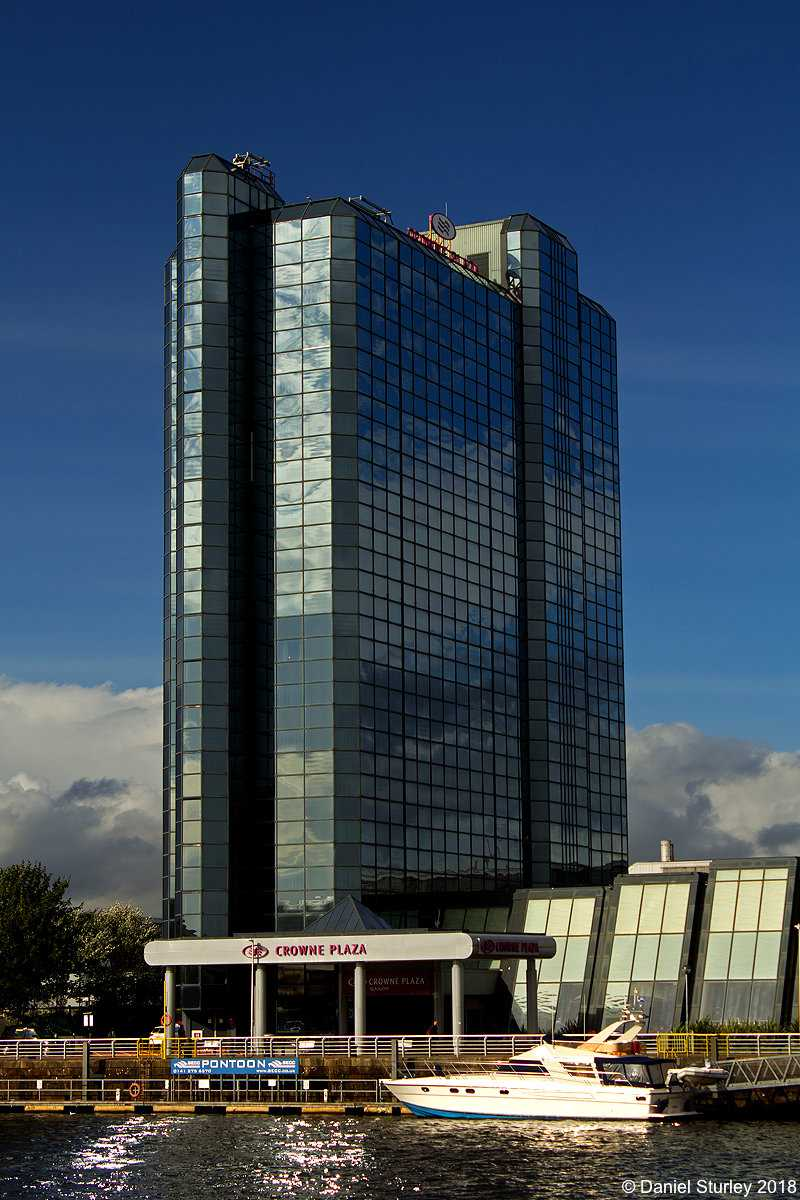 Glasgow, the Crown Plaza Hotel at the SEC - September 2018