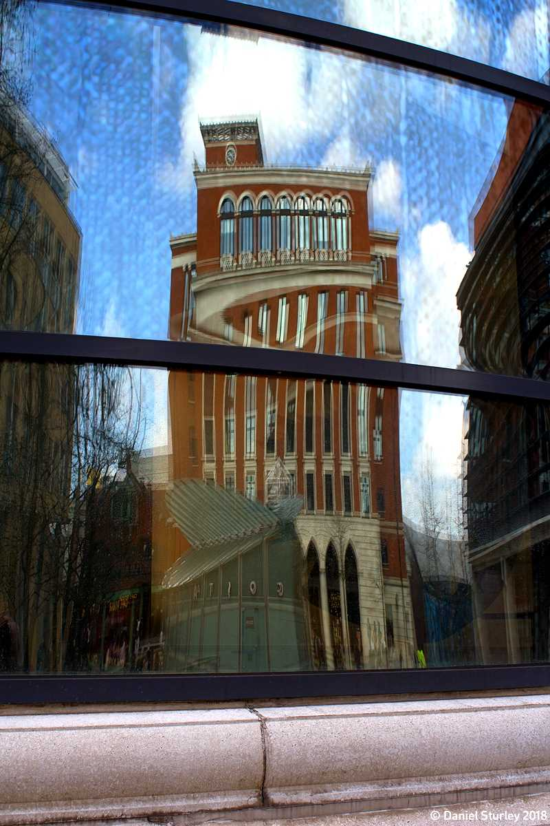 Three Brindleyplace in Reflection