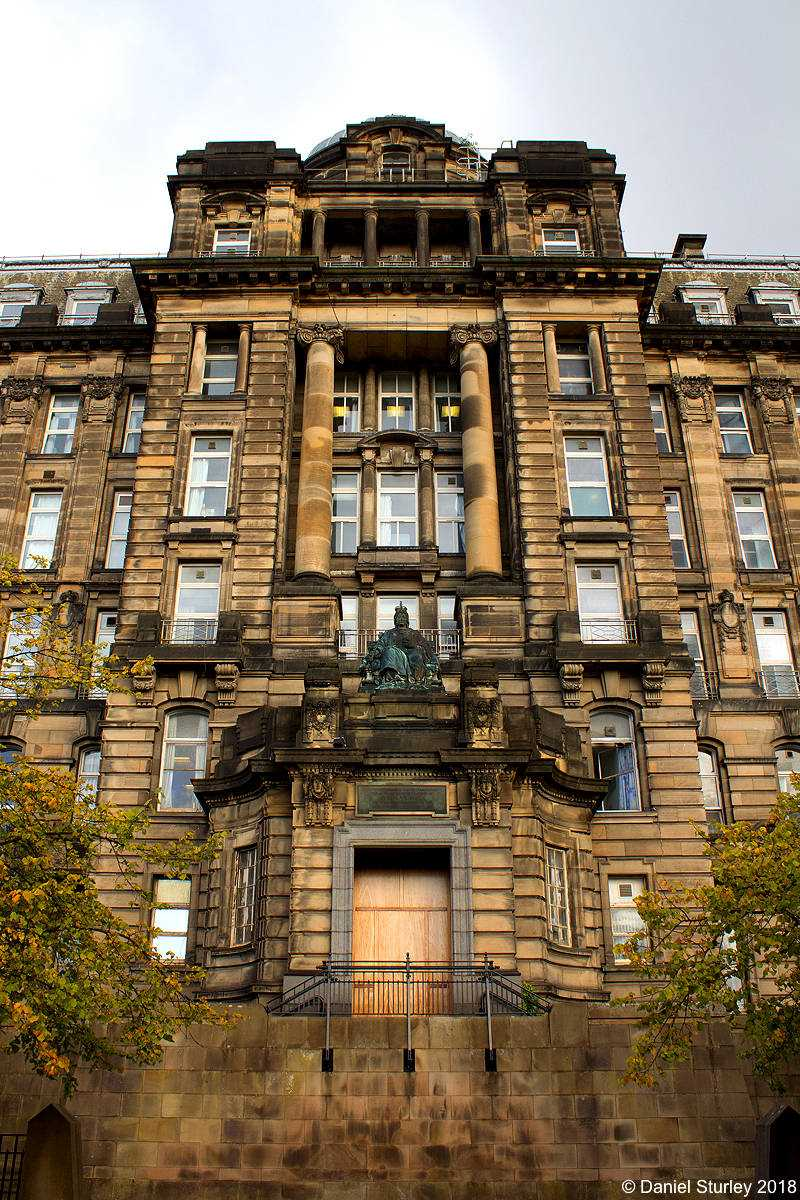 Glasgow, the Glasgow Royal Infirmary - September 2018