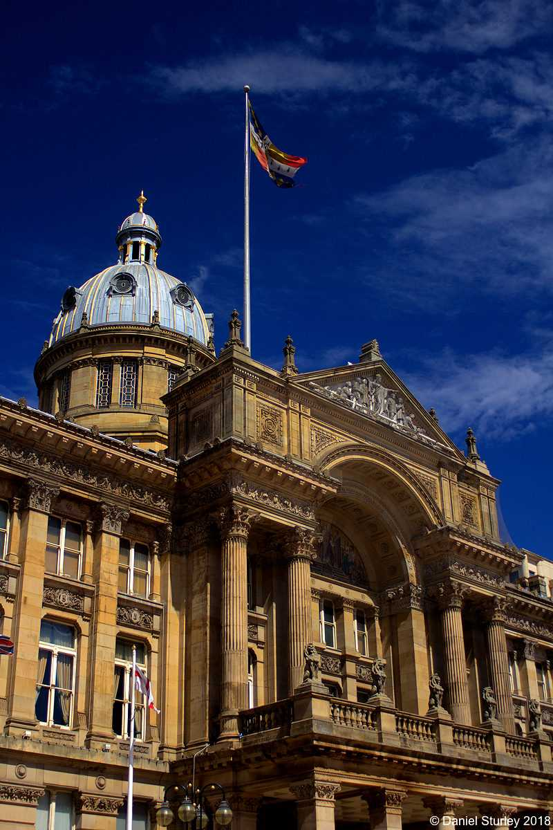 The Birmingham City Council House - July 2018