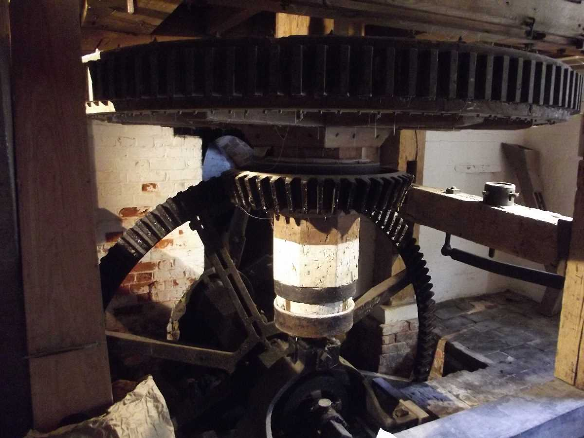 Mill Machinery at Sarehole Mill