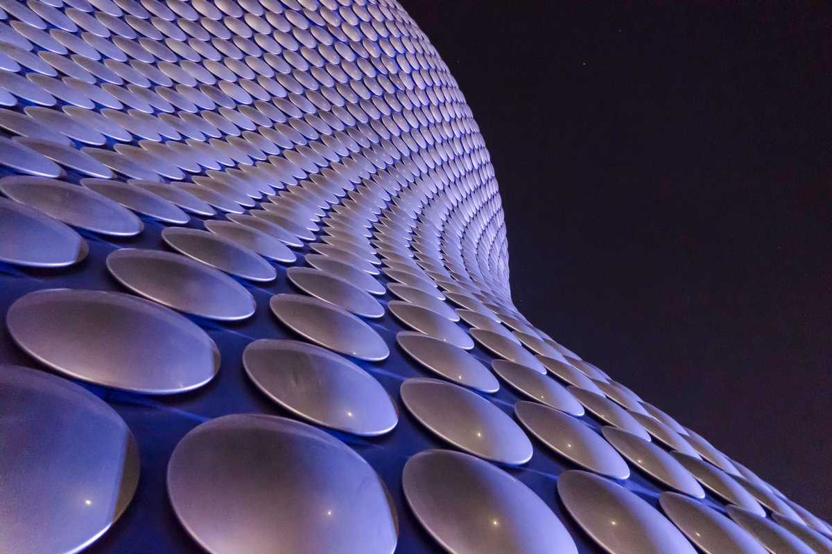 Birmingham - look up for great architecture