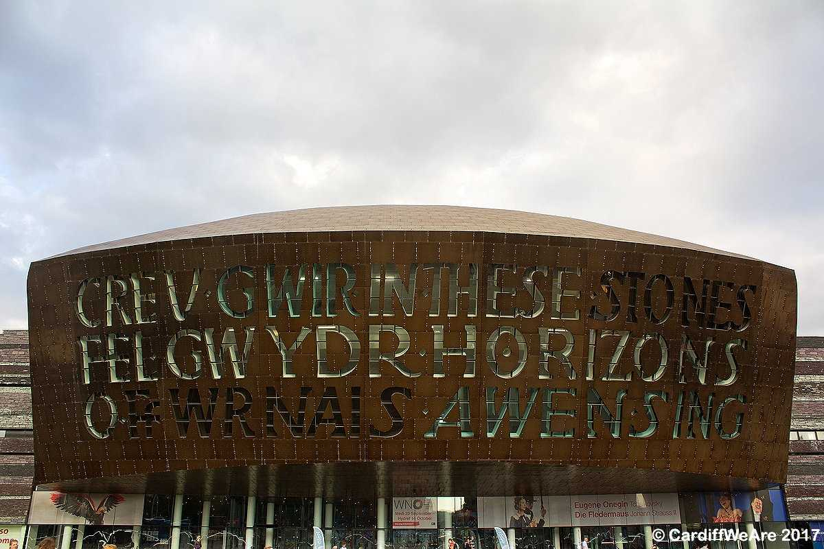 The outstanding Wales Millennium Centre