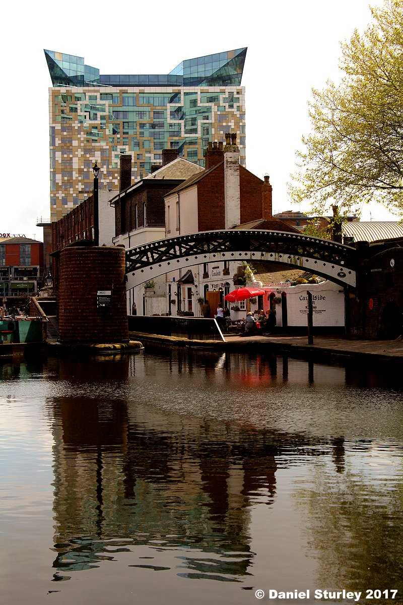Gas Street Basin - well worth a visit